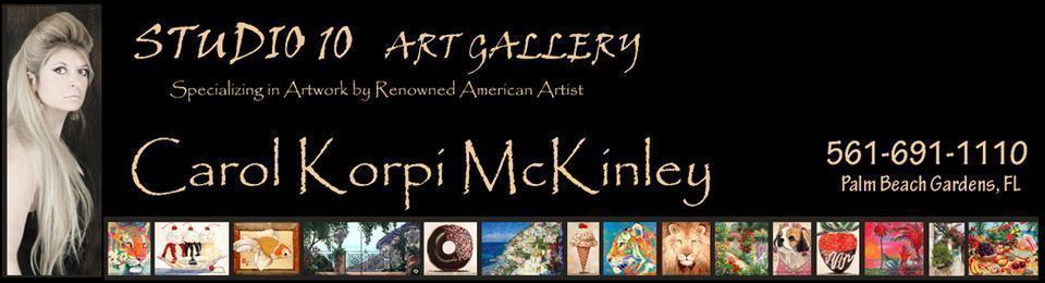 Carol Korpi McKinley -  Art, Gallery, Paintings, Abstract Art, Abstract Paintings, Landscapes, Landscape Paintings, Mixed Media, Photography, Abstracts, Artwork available at Studio Ten Gallery, Palm Beach Gardens, Palm Beach, Jupiter, FL